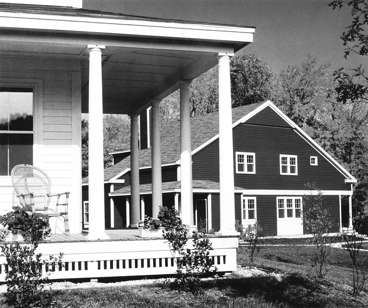 نمونه ی موردی در ارتباط با خانهی کوشکی: مزرعهی بَتلرُد، لینکن، ماساچوست