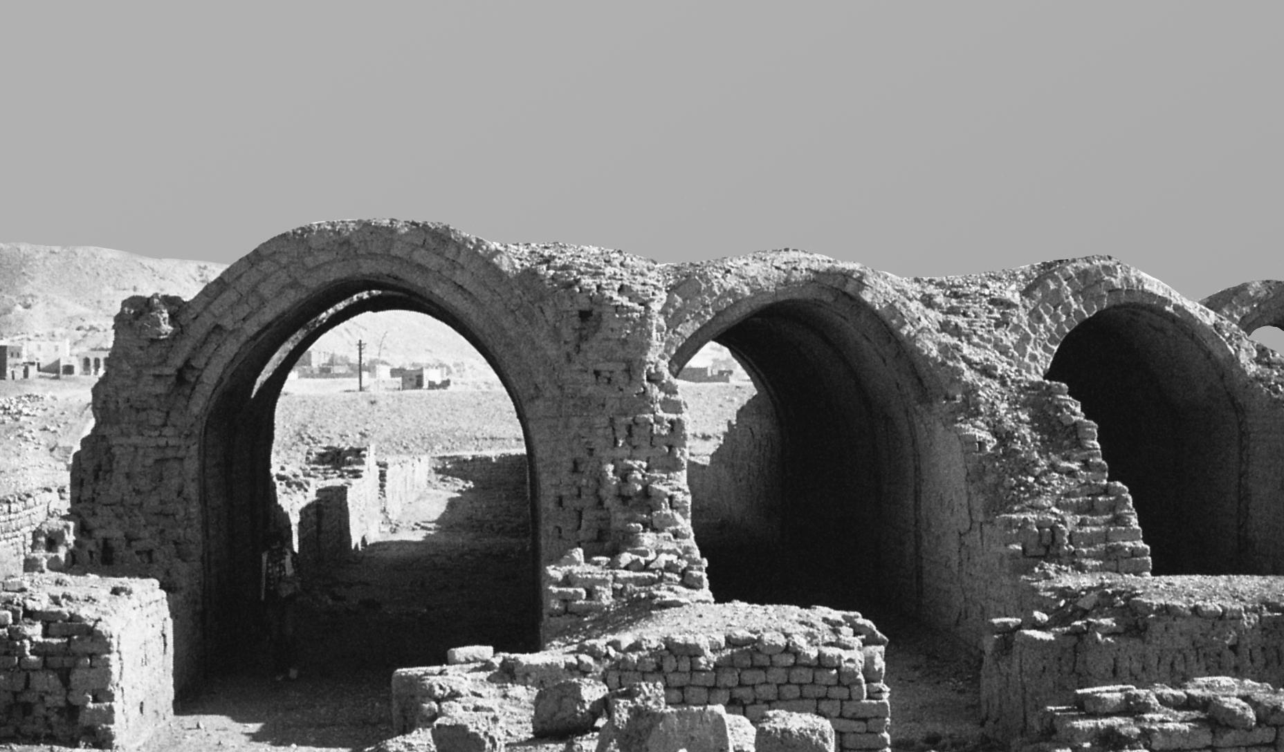 انبارهای معبد رامسس دوم، گورنا، مصر