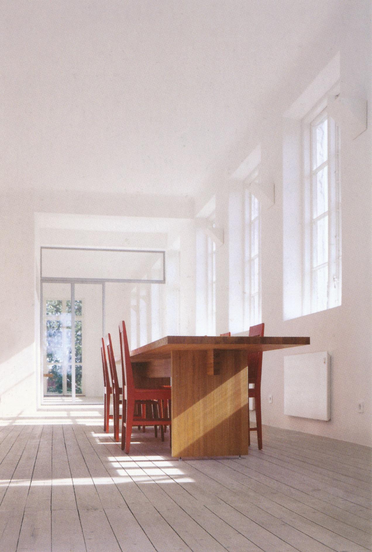 شرکت معماری سی.کِی.آر.کلِیسون کویویستو رون، خانهای برای ایگنِگرِد رامان و کلارِس سودرکوییست؛ بالدرینگ، سوئد، 2001