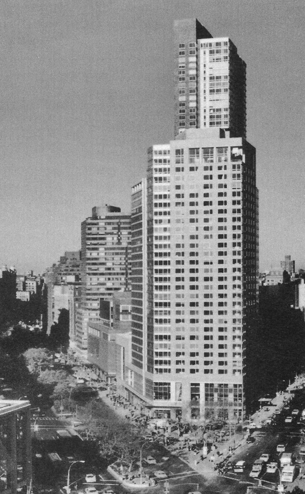 نمونه ی موردی در ارتباط با خانههای بلندمرتبه: مثلث لینکُلن، نیویورک