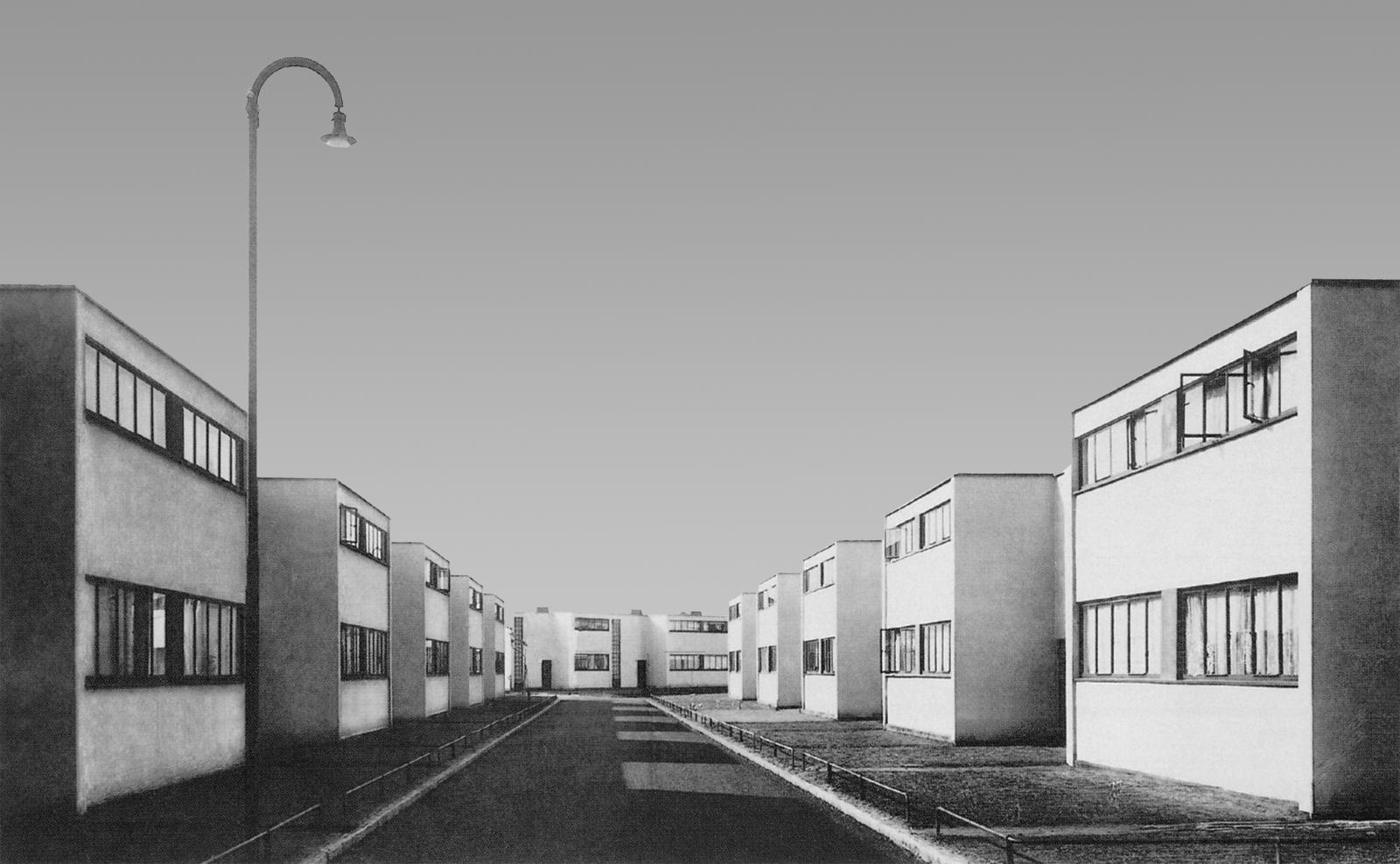 مجتمع مسکونی تورتن در دساؤ (1928)