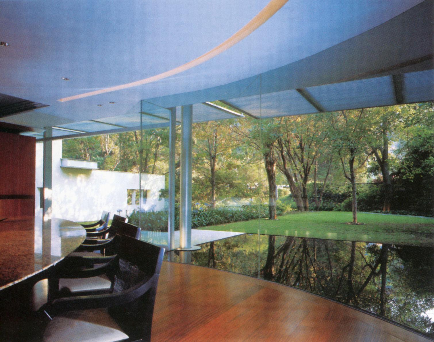 گروه معماری اِل.بی.سی، خانهی اسکوندیدو ریور، مکزیکو سیتی، 2003