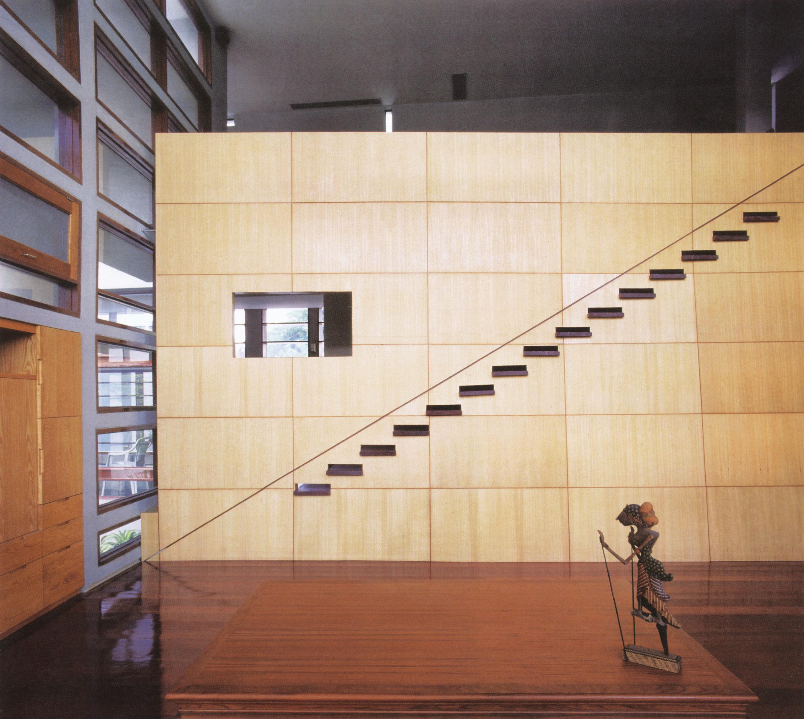 استودیو لوم، خانهی آنفولدینگ؛ بانکوک، تایلند، 1998