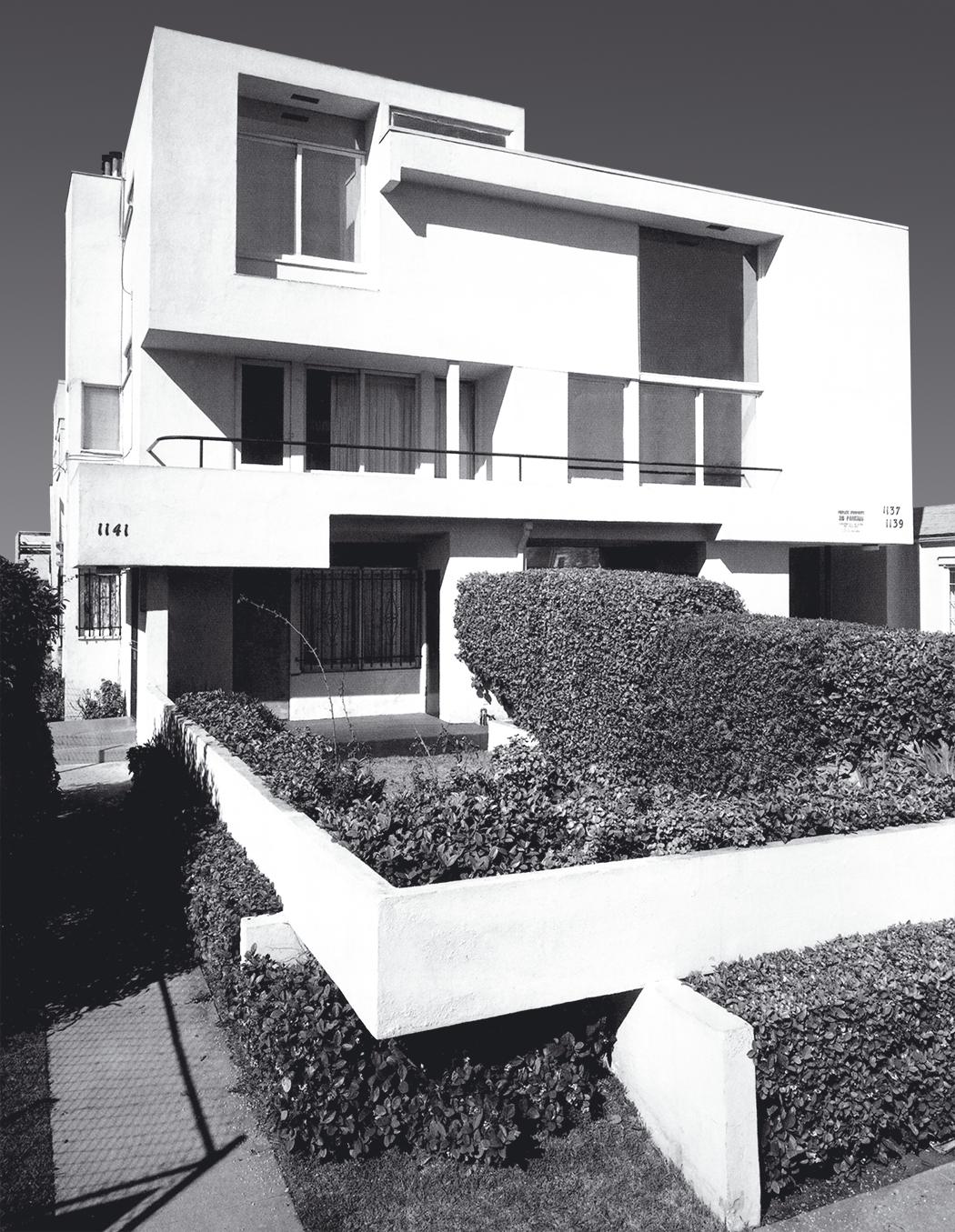 مجتمع آپارتمانی مکی، رودولف اِم.شیندلر، لوس آنجلس، 1934
