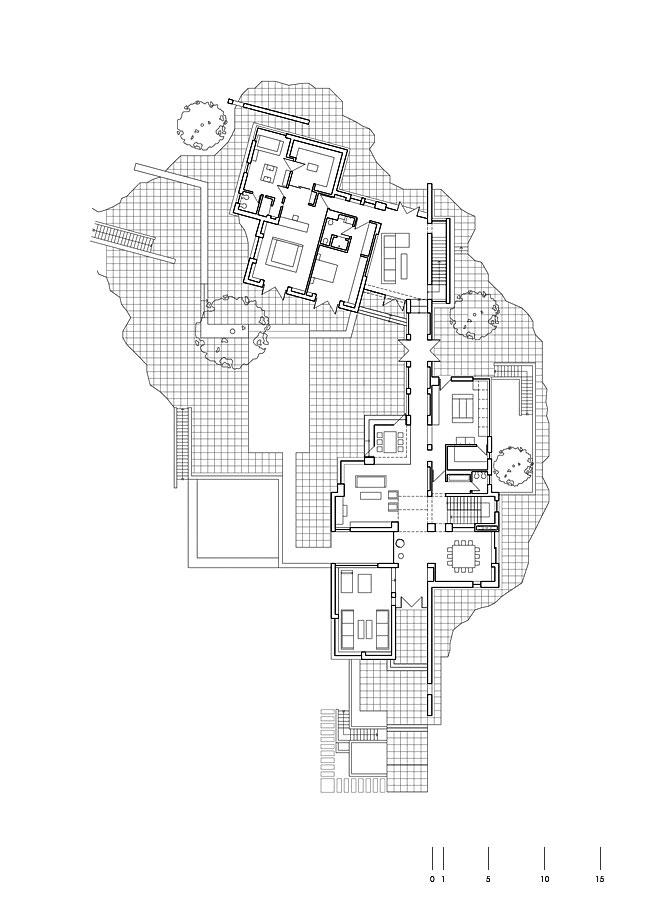 پلان طبقه ی همکف