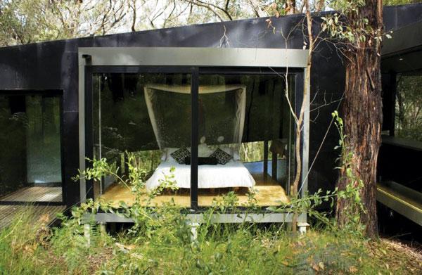 شرکت معماری دیوید لاک، خانهی رِد هیل؛ ملبورن، استرالیا، 2001
