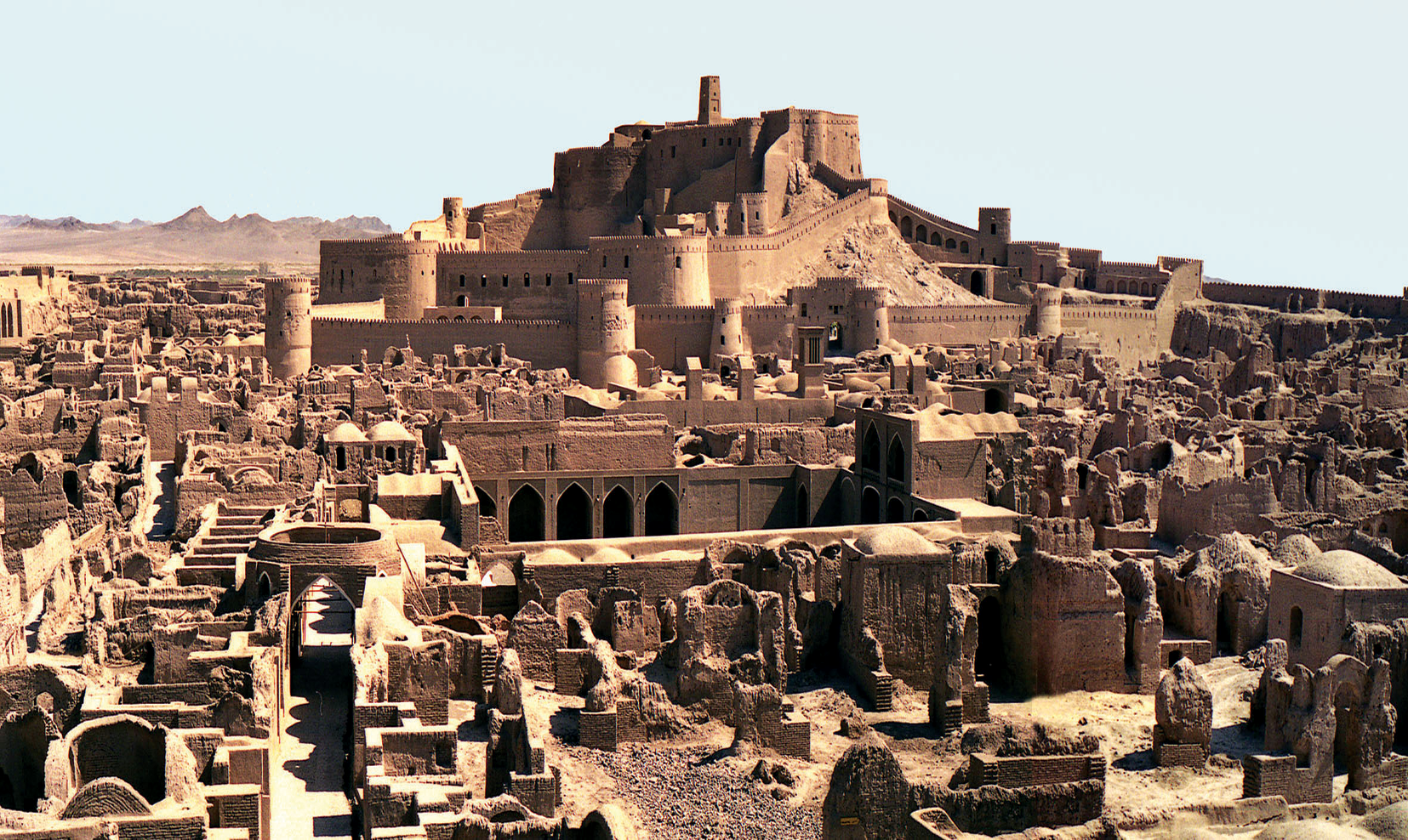 ارگ بم، ایران، قبل از زلزله ی دسامبر 2003