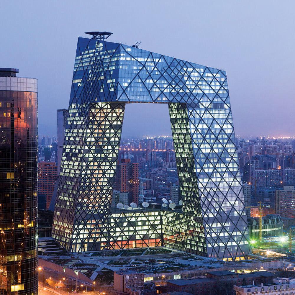 برج سی.سی.تی.وی (رم کولهاؤس و معماران متروپولیتن، پکن)، 2008