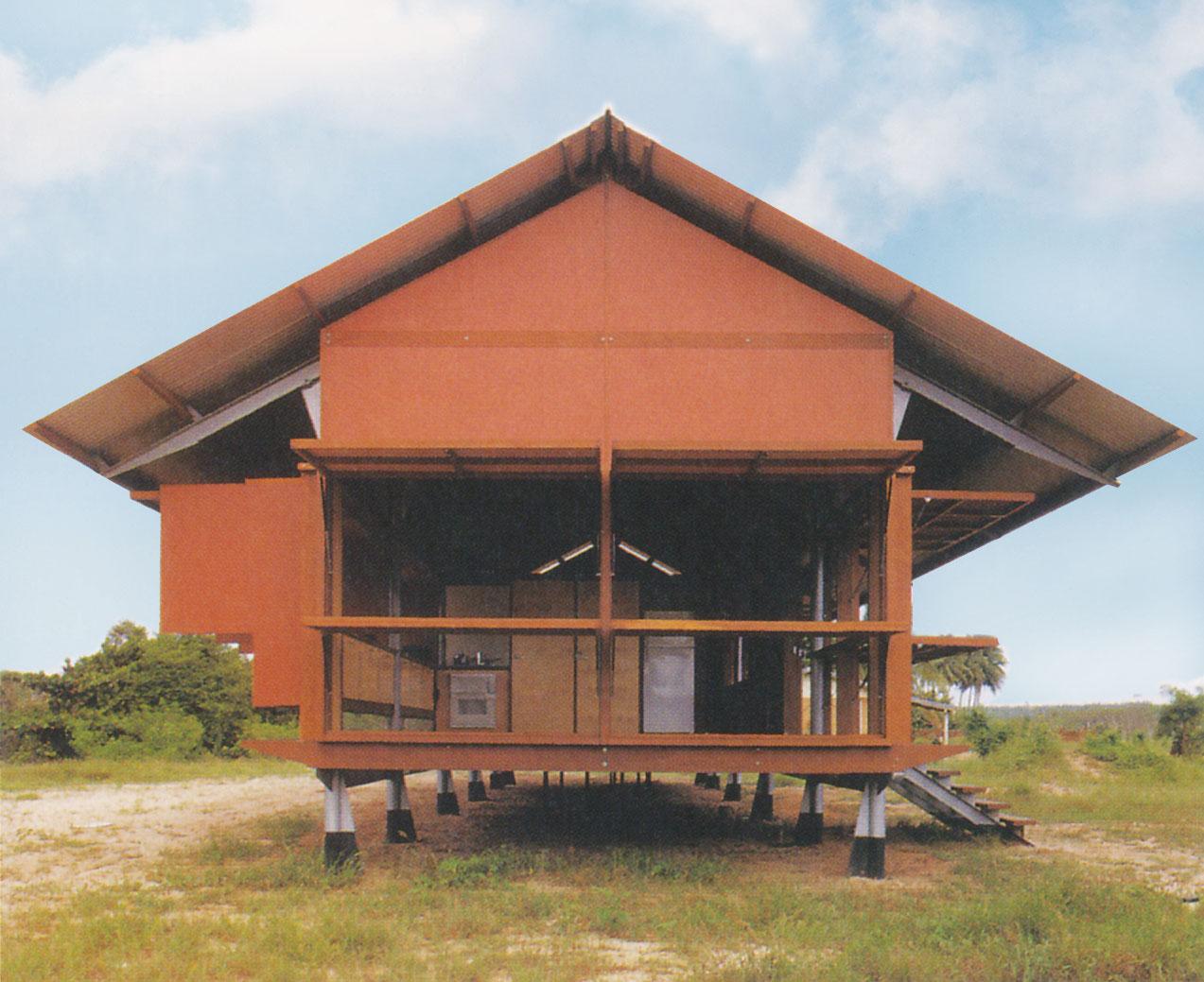 شرکت معماری گلِن مِرکات، خانهی ماریکا-آلدِرتون؛ آرنْهِملَندِ شرقی، استرالیا، 1994