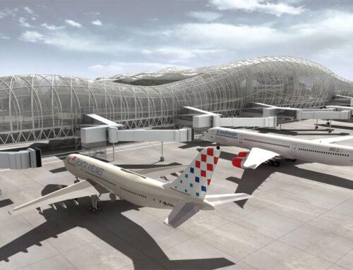 ترمینال جدید فرودگاه زاگرب
