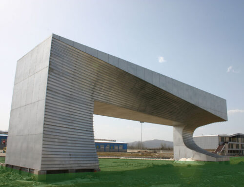 سردر ورودی کارخانهی فولاد اميرکبير ساراکلانتری، رضا صیادیان، اسماعیل طلایی