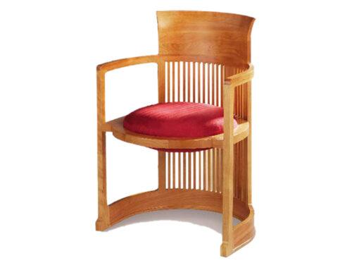 صندلی بشکهای اثر فرانک لوید رایت، متن از علیرضا صالح راستین
