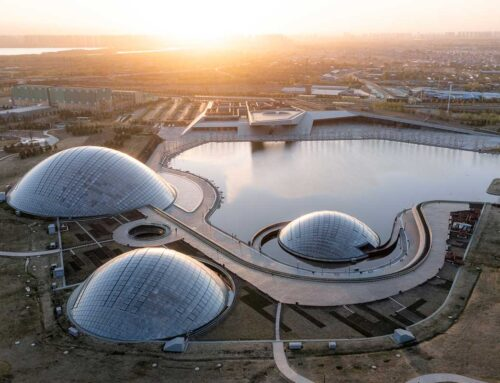 باغ گیاه شناسی تایوان، اثر Delugan Meissl Associated Architects